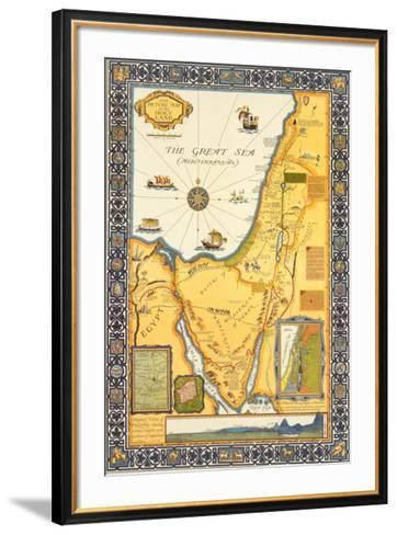 View of Palestine, c.1928-Harold Brown-Framed Art Print