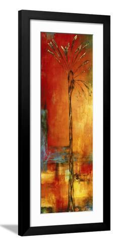 Palm Sunset I-Eduardo Lazo-Framed Art Print