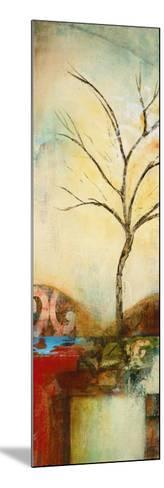Ochre Landscape I-Eduardo Lazo-Mounted Art Print