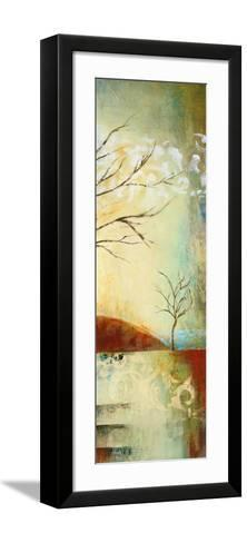 Ochre Landscape II-Eduardo Lazo-Framed Art Print