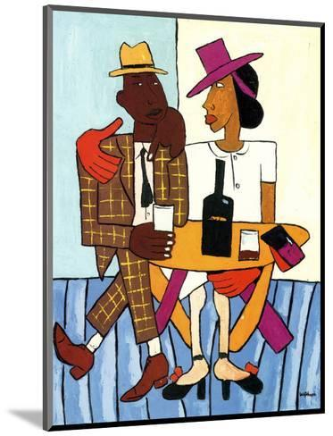 Cafe-William H^ Johnson-Mounted Art Print