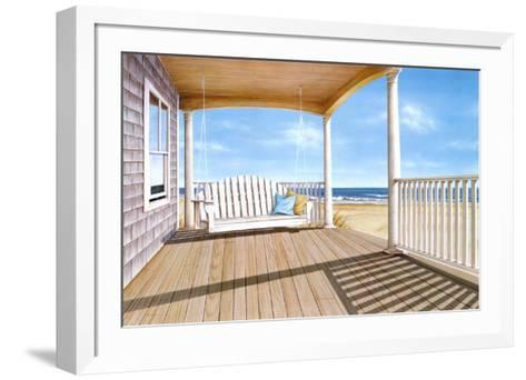 The Porch Swing-Daniel Pollera-Framed Art Print