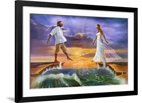 Step Out on Faith-Kevin A^ Williams-Framed Art Print
