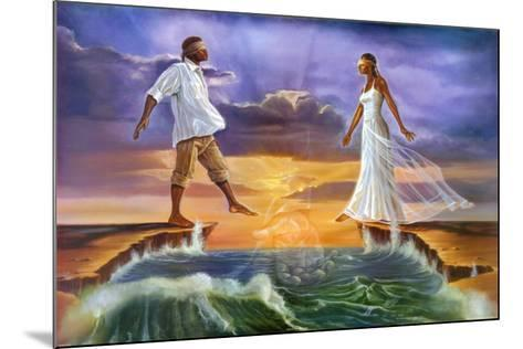 Step Out on Faith-Kevin A^ Williams-Mounted Art Print