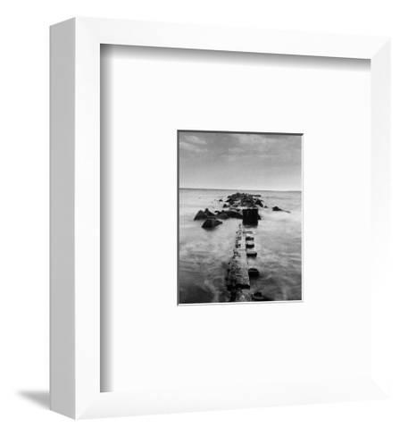 New York by the Water II-Walter Gritsik-Framed Art Print