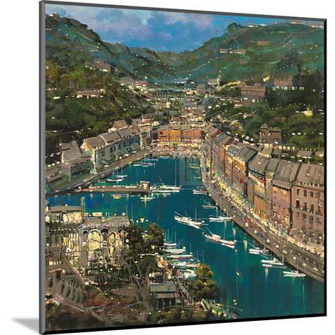 Portofino Twilight-Mario Sanzone-Mounted Art Print