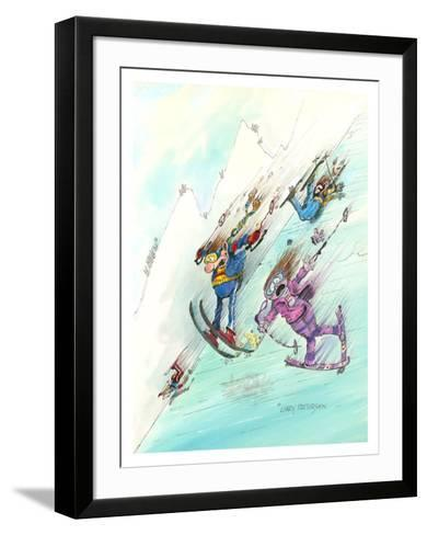Icy Conditions-Gary Patterson-Framed Art Print