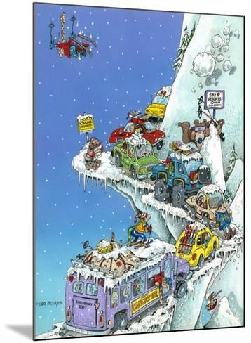 Ski Fever-Gary Patterson-Mounted Giclee Print