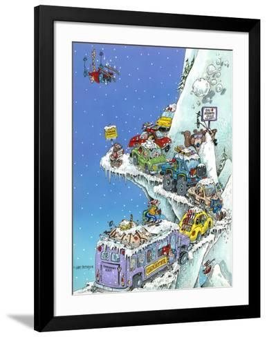 Ski Fever-Gary Patterson-Framed Art Print
