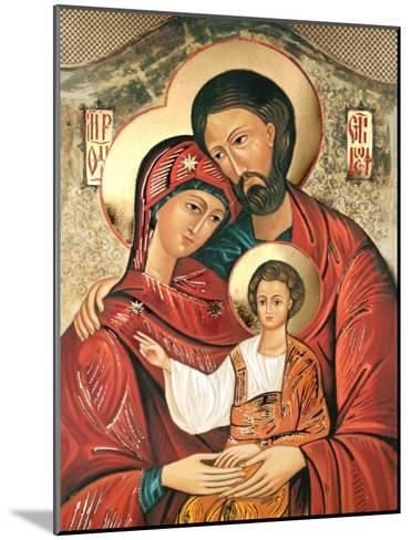 Holy Family--Mounted Art Print