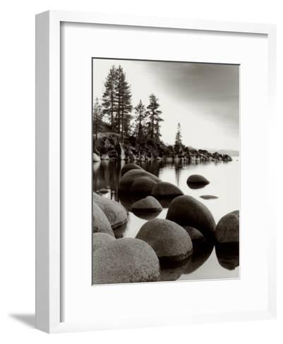 Sand Harbor I-Monte Nagler-Framed Art Print