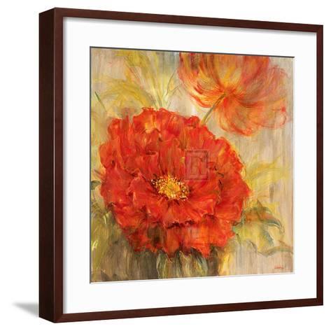 Calypso Reds I-Liv Carson-Framed Art Print
