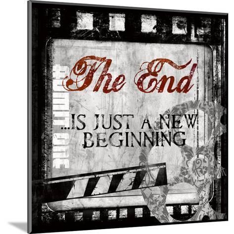The End-Conrad Knutsen-Mounted Art Print