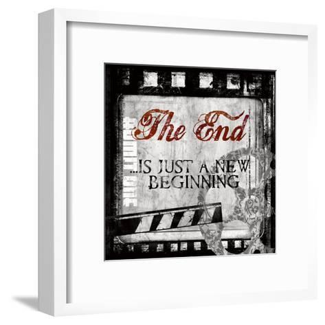 The End-Conrad Knutsen-Framed Art Print