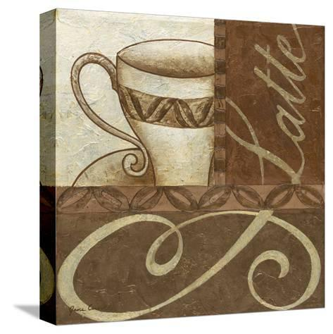 Latte Cafe II-Jane Carroll-Stretched Canvas Print