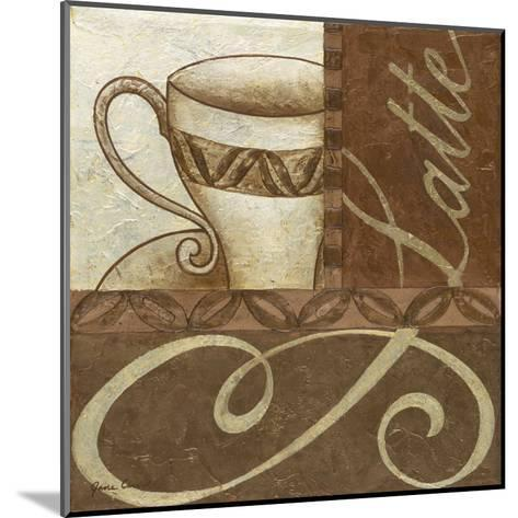 Latte Cafe II-Jane Carroll-Mounted Art Print