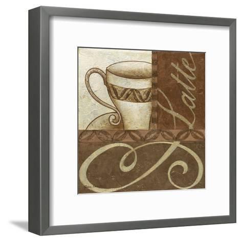 Latte Cafe II-Jane Carroll-Framed Art Print