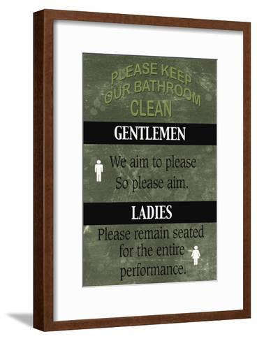 Bathroom-Marilu Windvand-Framed Art Print