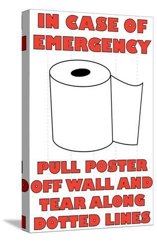 In Case of Emergency II-Russ Lachanse-Stretched Canvas Print