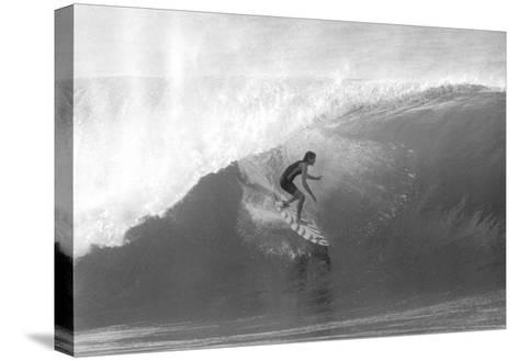 Gerry Lopez, Pipeline-Bill Romerhaus-Stretched Canvas Print