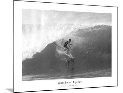 Gerry Lopez, Pipeline-Bill Romerhaus-Mounted Art Print
