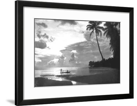 Tahiti, 1938--Framed Art Print