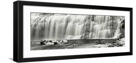 Dynjandi, Iceland-Helmut Hirler-Framed Art Print
