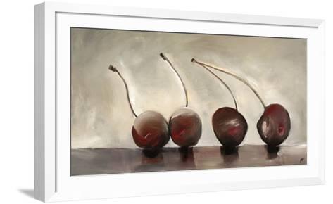 Cerises, c.2006-Nathalie Clement-Framed Art Print