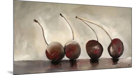 Cerises, c.2006-Nathalie Clement-Mounted Premium Giclee Print