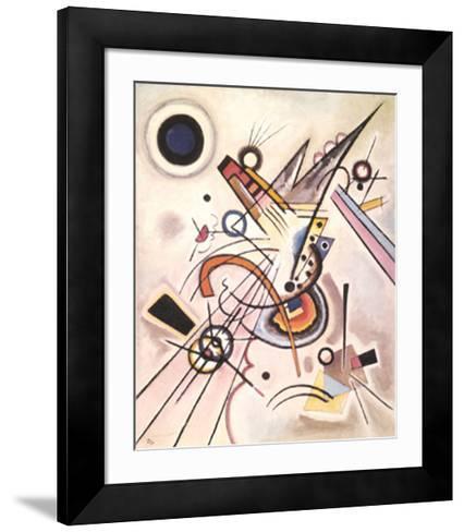 Diagonale, c.1923-Wassily Kandinsky-Framed Art Print