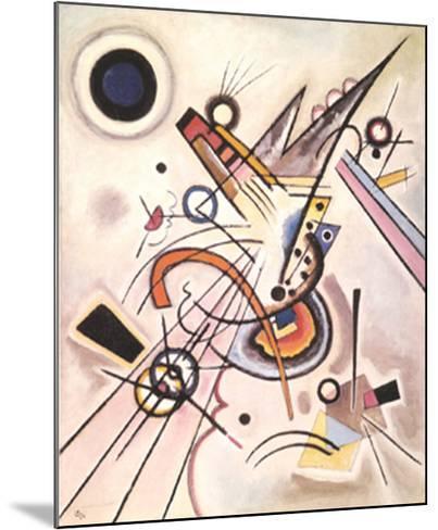 Diagonale, c.1923-Wassily Kandinsky-Mounted Art Print