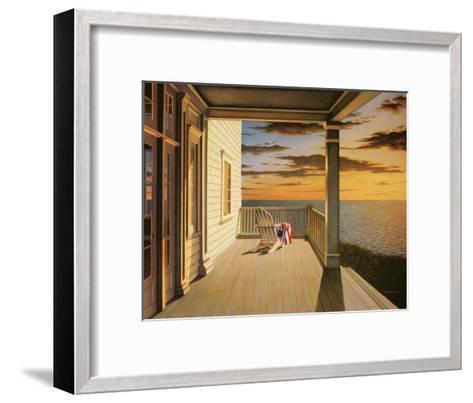 Last Light-Daniel Pollera-Framed Art Print