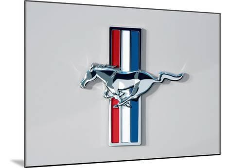 2006 Ford Mustang Horse and Bars Emblem--Mounted Giclee Print