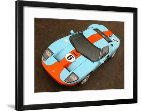 2006 Ford GT Heritage Livery--Framed Art Print
