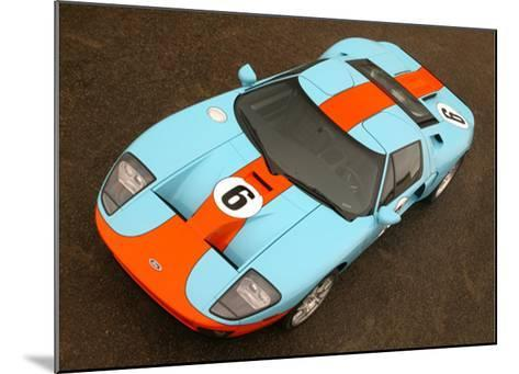 2006 Ford GT Heritage Livery--Mounted Giclee Print