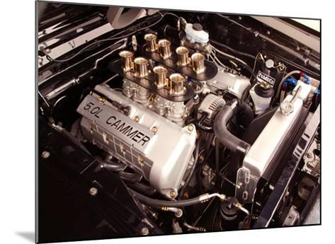 1965 Mustang Fastback FR500 Engine--Mounted Giclee Print