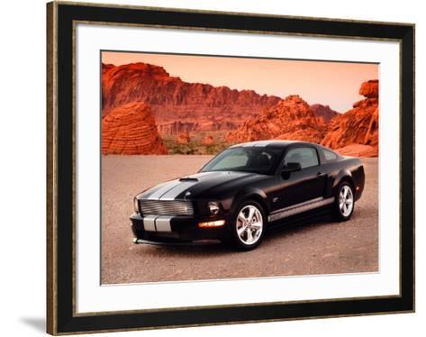2007 Shelby GT--Framed Art Print