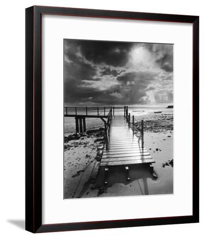 L'Embarcadere, Pointe d'Agon-Olivier Meriel-Framed Art Print
