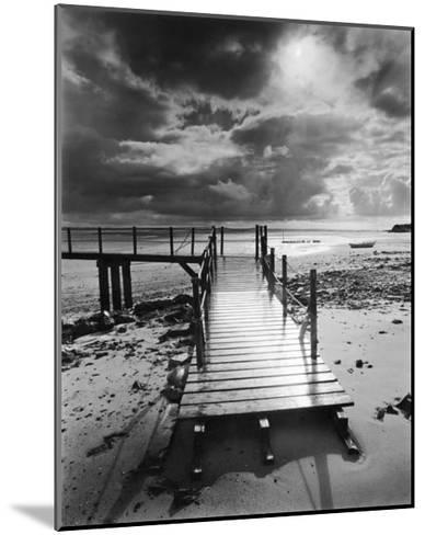 L'Embarcadere, Pointe d'Agon-Olivier Meriel-Mounted Art Print