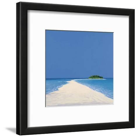 Island in the Sun II-Werner Eick-Framed Art Print