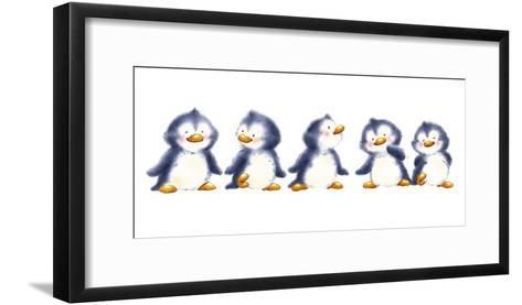 Animal Fun Time I-Makiko-Framed Art Print