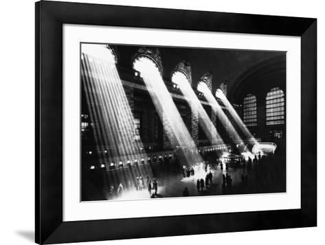 Grand Central Station, 1934--Framed Art Print