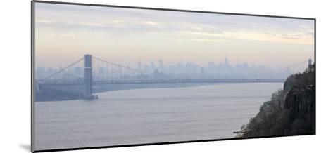 George Washington Bridge at Dawn-Hank Gans-Mounted Art Print