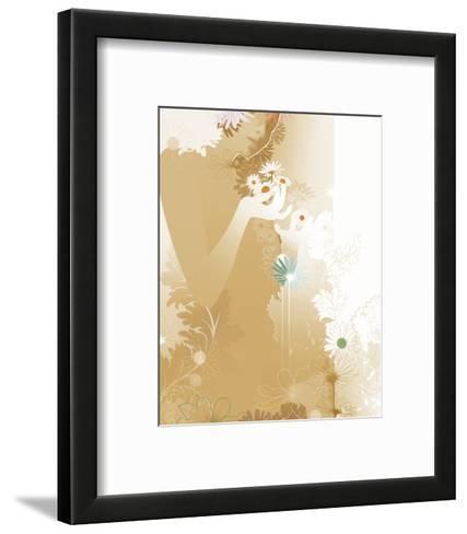 Daisy Lores II-Chellie Caroll-Framed Art Print