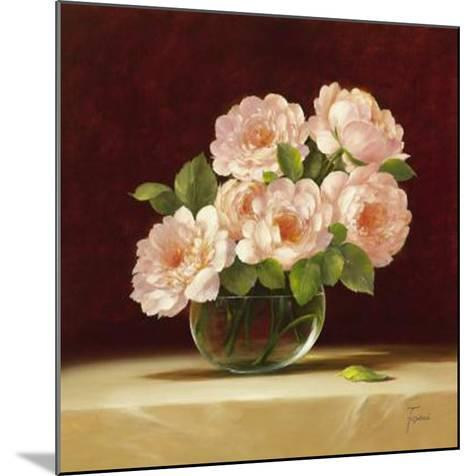 Bouquet of Roses I-Fasani-Mounted Art Print