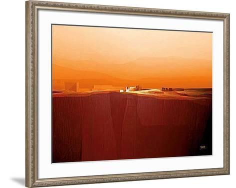 Marvellous Landscape IV-Fernando Hocevar-Framed Art Print