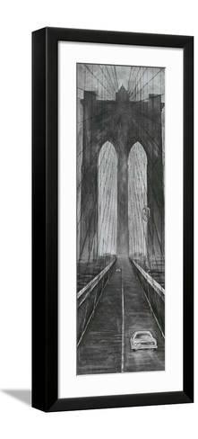 Brooklyn Bridge-L^ Cartier-Framed Art Print