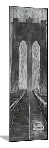 Brooklyn Bridge-L^ Cartier-Mounted Art Print