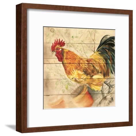 Coq-Clauva-Framed Art Print