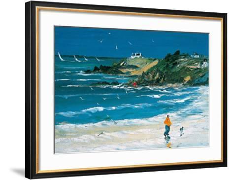 L'Homme et Son Chien-Christian Sanseau-Framed Art Print